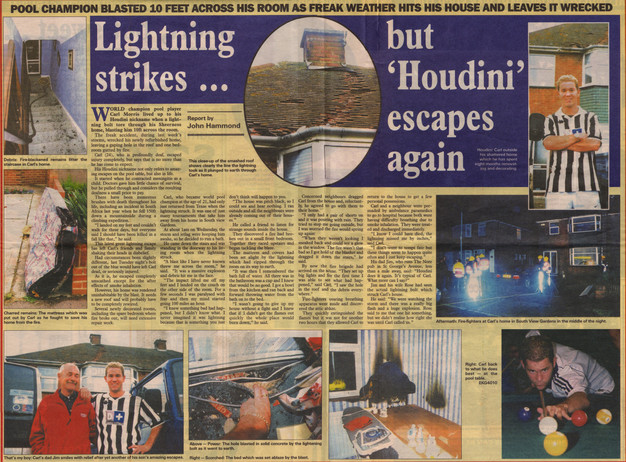 2001 - Lightning Strike