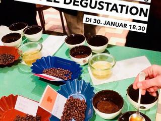 Kaffee Degustation spring roasters