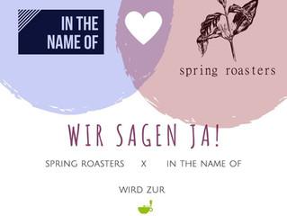 spring roasters x inthenameof = Kaffeemacher-Rösterei