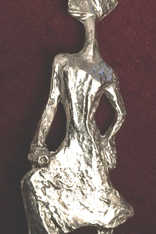 Silvery Pewter