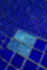 American made Lightstreams Glass Tile is used for pool tile, spa tile, waterline tile, step marker tile, accent tile, wall tile, fountain tile, floor tile, bathroom tile, shower tile, kitchen tile, and kitchen backsplash tile. This all tile pool is done in Lightstreams Renaissance Collection Royal Blue with Lightstreams Jewel Accent Tile as step markers in Mystic Spring 2x2 tile size.
