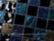 High quality American made Lightstreams Gold Iridescent Collection Obsidian black glass tiles are a shiny black color on the shiny side of the tile, with metallic iridescent colors on the reverse side. American made Lightstreams Glass Tile is used for pool tile, spa tile, waterline tile, step marker tile, accent tile, wall tile, fountain tile, floor tile, bathroom tile, shower tile, kitchen tile, and kitchen backsplash tile.