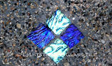 American Made Lightstreams Glass Tile  Glass Swimming Pool Tile Step Marker Tiles Accent Tile