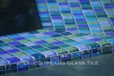 American made Lightstrems Glass Tile blue tile mix for pool tile, waterline tile, and spa tile