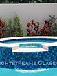 Lightstreams Glass Tile  Custom Color Mix Spa, Waterline, and Glass Tile Wall tile, spa tile, accent tile step markers blue tile, red tile, pool tile