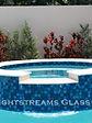 Lightstreams Glass Tile  Custom Color Mix Spa, Waterline, and Glass Tile Wall tile, spa tile, accent tile step markers blue tile, red tile, pool tile