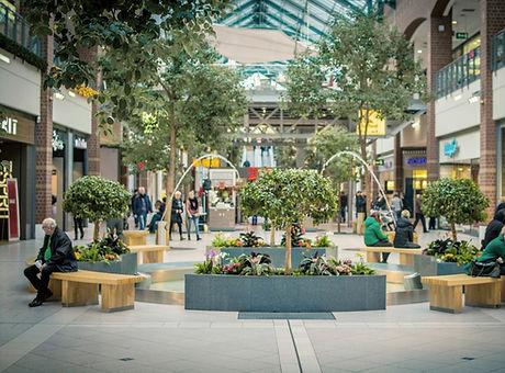Shopping Mall Fountain