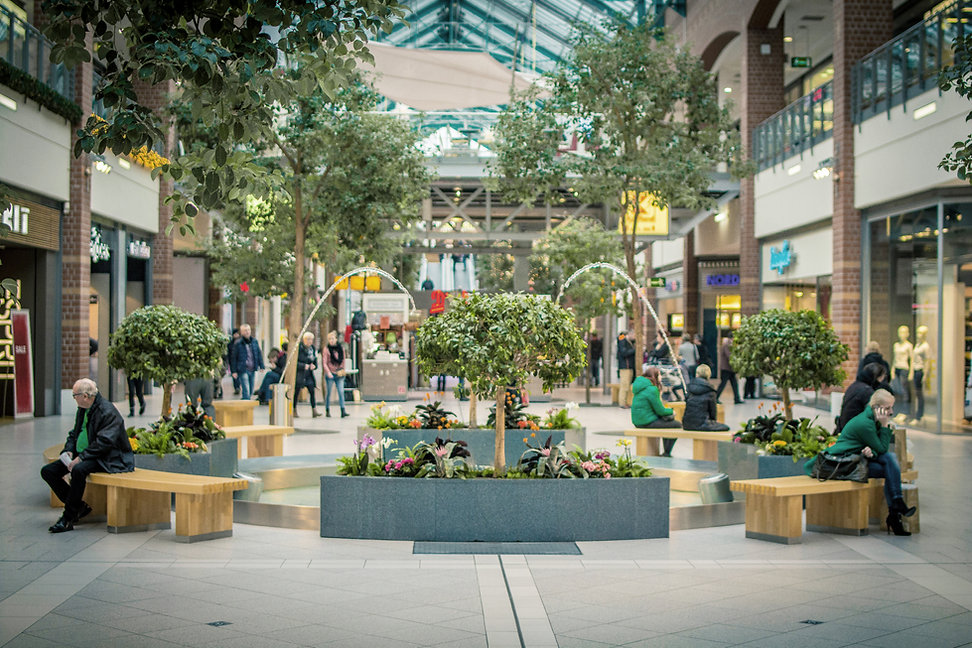 Centrum handlowe Fountain