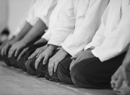 Still life in an Aikido Dojo