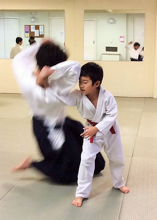 Childrens classes - Aikido Sydney lower north shore