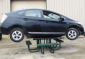 Premier-Polysteel Car on table Inside Fl