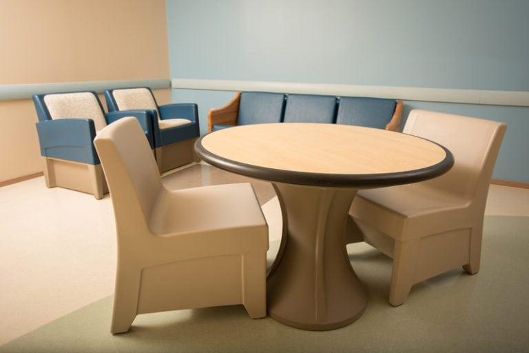 Group Shot Table Seating Inside Norix Pa