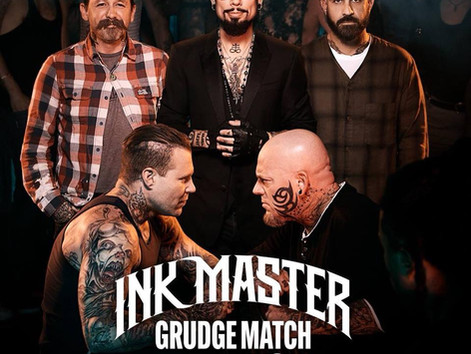 Multiple Tracks Featured in Season Premiere of 'Ink Master: Grudge Match' on Paramount Netwo