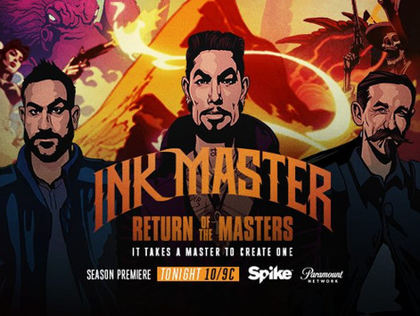 Multiple tracks featured in the season 10 premiere of 'Ink Master' on Spike TV