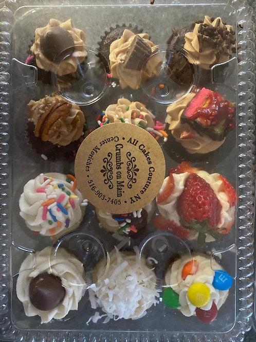 Mini Cupcakes by the dozen