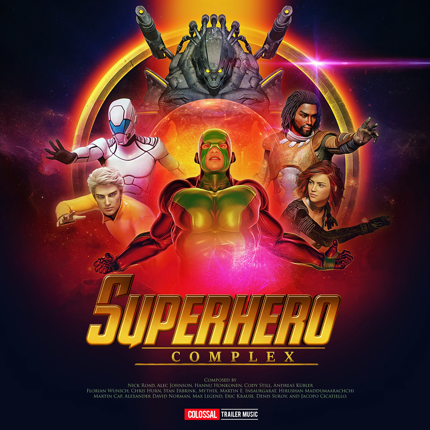 Superhero Complex