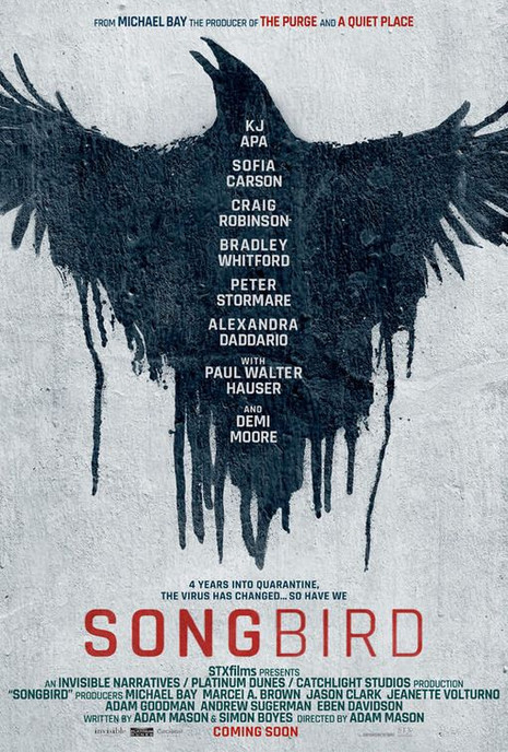 'Revolver Drive' Published by Phantom Power featured in the digital campaign for 'Songbird'