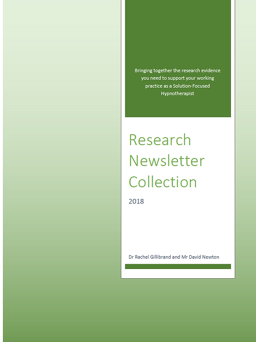 2018 Research Newsletter Collection