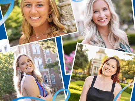 The Faces Behind BizCom: Avery Barzizza, Sarah Gill, Alex Preusser & Lauren Wetzel