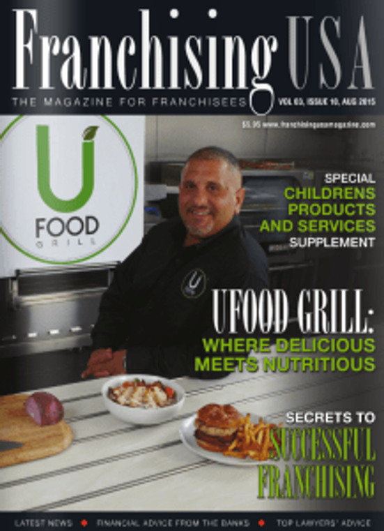 UFood Grill magazine cover
