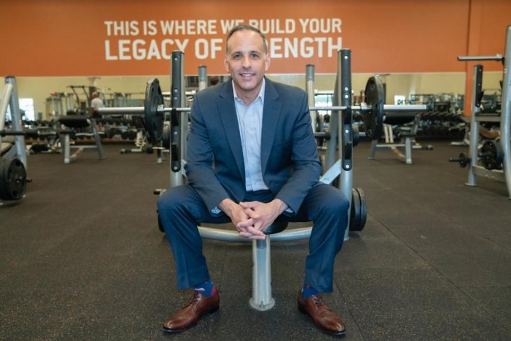 Gold's Gym CEO Adam Zeitsiff