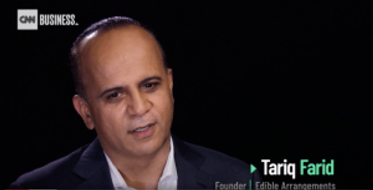 Tariq Farid CNN Business podcast, pr in 2019
