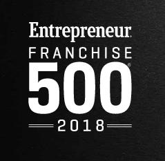 BizCom clients in Entrepreneur Franchise 500
