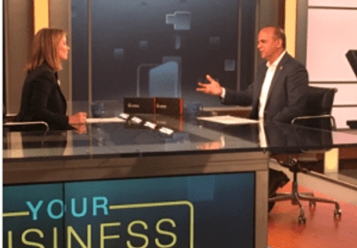 Tariq Farid Edible Arrangements talks business success on MSNBC