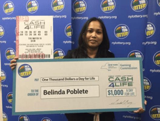 New York lottery winner buys franchise