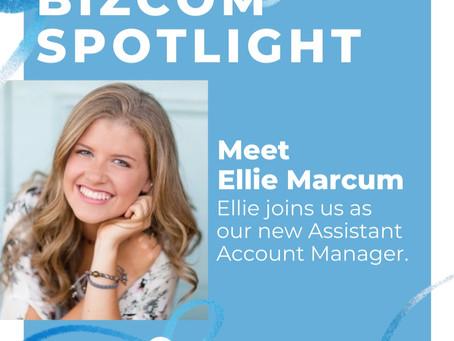 The Faces Behind BizCom: Ellie Marcum