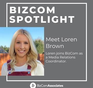 Loren Brown joins BizCom Media Relations Division