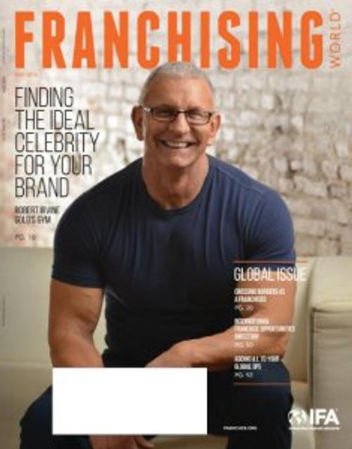 Chef Robert Irvine Franchising World brand spokespeople