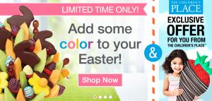 BizCom PR client Edible Arrangements Children's Place promotion