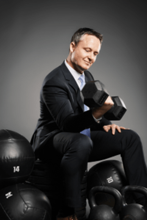 Gold's Gym CEO Brandon Bean brand spokespeople