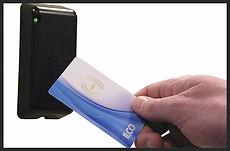 Swipe card access control