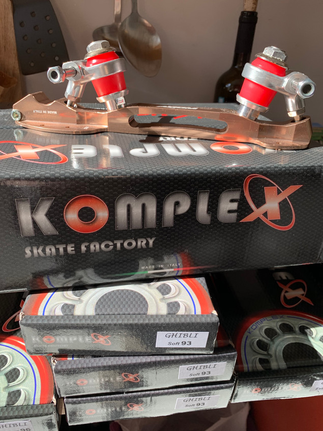 This was the latest Komplex shipment