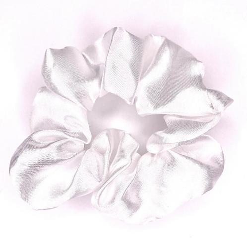 Sassy Satin - White