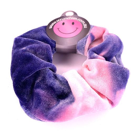 Vibrant Velvet - Tie-Dye Pink/Purple