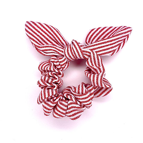 Bow Scrunchie - Red
