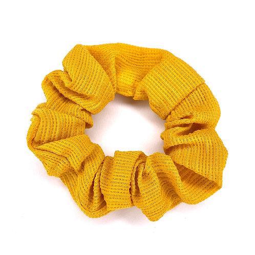 Mini Yellow Scrunchie