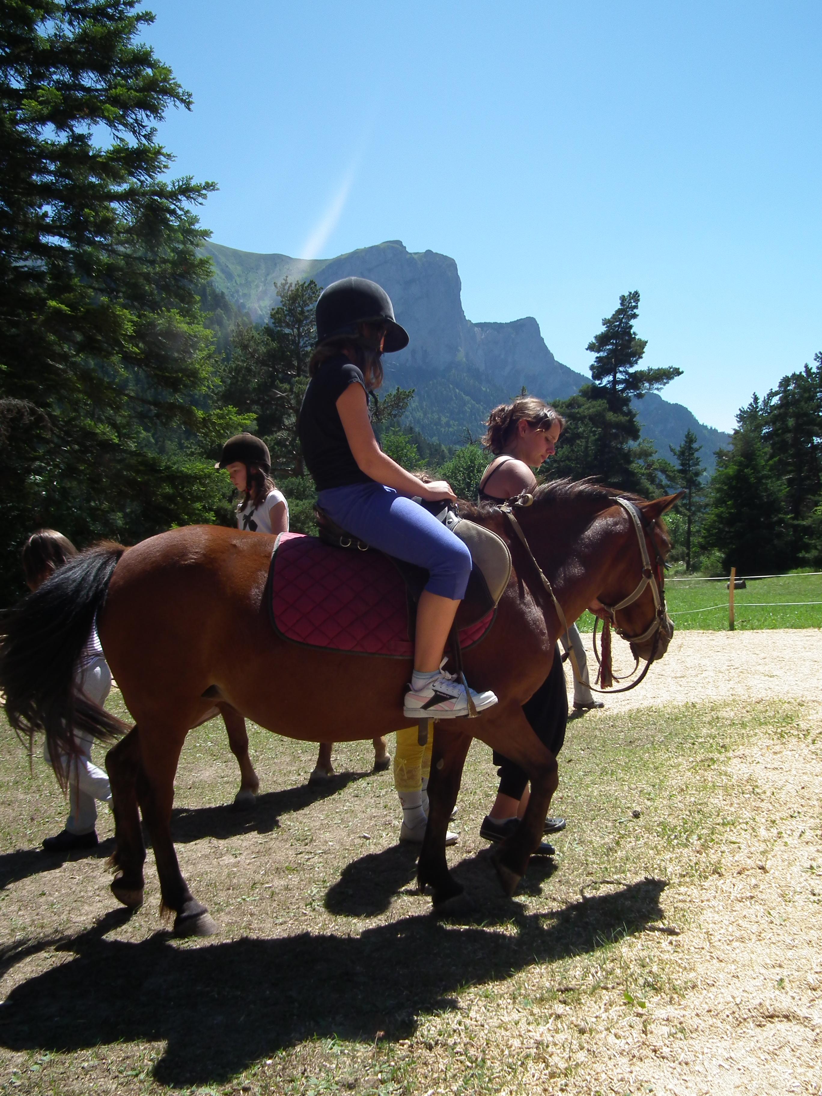 Aventurier du vercors equitation3