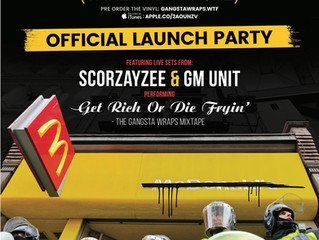 Scorzayzee Gangsta Wraps Launch