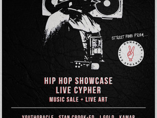 Hip Hop Showcase, Live Cypher & Music Sale