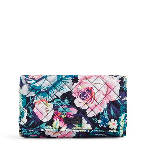 Iconic RFID Trifold Clutch Wallet