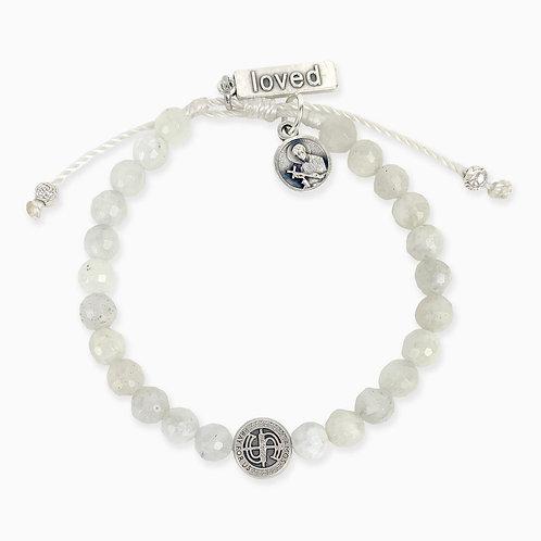 A Mother's Love Moonstone Fertility Bracelet
