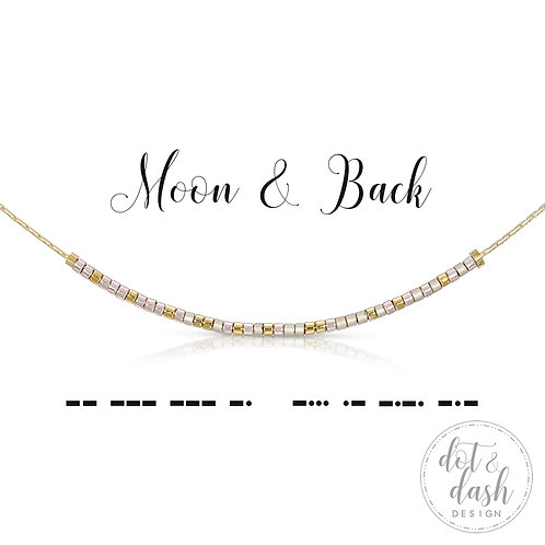 Moon And Back (Necklace)