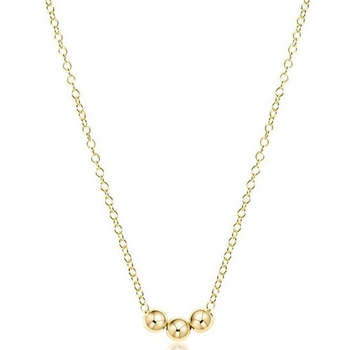 "16""Necklace Gold - Joy"