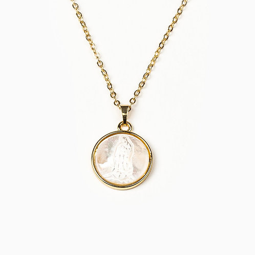 Blessed Mother Mary Necklace