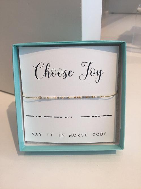 Choose Joy (Bracelet)