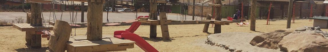 Juegos de madera para plazas